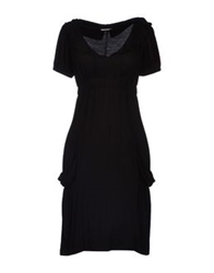 Germano Zama Short Dresses Black
