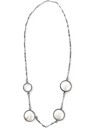 Bottega Veneta Necklace Metallic