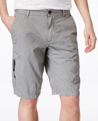Buffalo David Bitton Men's Herculean Flat Front Shorts Ardent