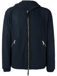 Giorgio Armani Zip Pocket Jacket Blue