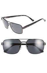 Men's Ted Baker London 59Mm Navigator Sunglasses Dark Gunmetal