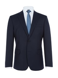 Paul Costelloe Men's Haydon Wool Rich Suit Jacket Navy