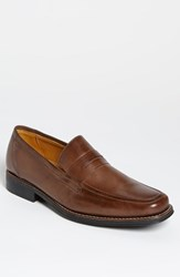 Men's Sandro Moscoloni 'Stuart' Penny Loafer Brown