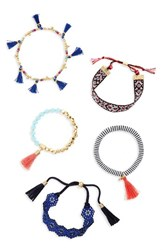 Baublebar Women's Mahala Set Of 5 Bracelets Multi