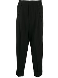 Ann Demeulemeester Tapered Trousers Black