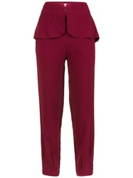 Lilly Sarti Basque Trousers Red