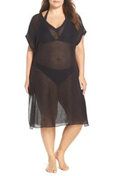 Becca Etc Plus Size Women's Etc. By The Sea Cover Up Tunic