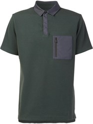 Aztech Mountain 'Maroon Creek' Polo Shirt Green