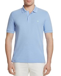Brooks Brothers Cotton Classic Fit Polo Light Blue