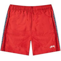 Stussy Taping Nylon Short Red