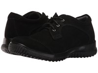 Drew Shoe Hope Black Suede Women's Shoes