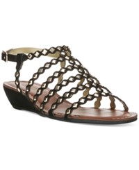 Carlos By Carlos Santana Kaden Flat Sandals Women's Shoes Black