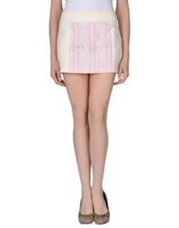 Custo Barcelona Mini Skirts Light Pink