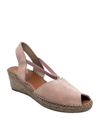 Andre Assous Dainty Slingback Wedge Sandals Blush