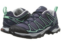 Salomon X Ultra Prime Artist Grey X Deep Blue Lucite Green Women's Shoes Gray