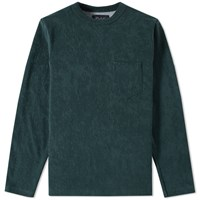 Howlin' Long Sleeve Headhunter Tee Green