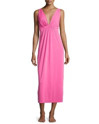 Natori Aphrodite Long Gown Tropical Pink