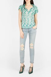 Missoni Women S Knitted Polo Shirt Boutique1 Green