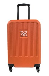 Sherpani Meridian 22 Inch Wheeled Carry On Orange Canyon