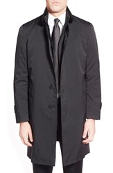 Men's Sanyo 'Millman' Overcoat With Removable Down Liner