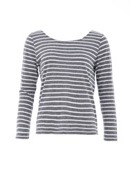Garcia Striped Top Grey