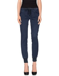 Duck Farm Trousers Casual Trousers Women Slate Blue