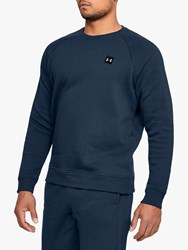 Under Armour Rival Fleece Crew Neck Sweatshirt Academy Black