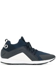 Hugo Boss Lace Up Sneakers 401 Dark Blue