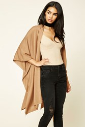 Forever 21 Longline Bat Wing Cardigan