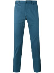 Dolce And Gabbana Chino Trousers Blue