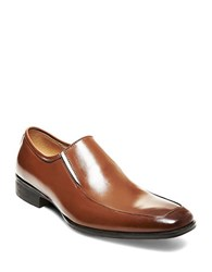 Steve Madden Safety Leather Dress Loafers Tan
