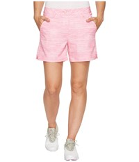 Puma Printed 5 Shorts Shocking Pink Women's Shorts