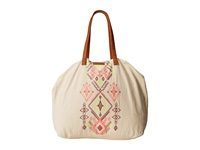 Billabong Morro Solstice Tote Bag Natural Tote Handbags Beige