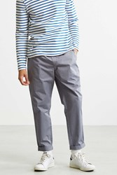 Urban Outfitters Uo Parker Elastic Waist Pant Light Grey