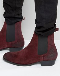 House Of Hounds Keats Suede Chelsea Boots Red