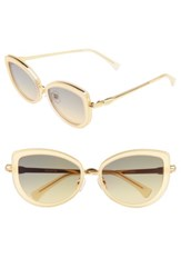 Wildfox Couture Women's Clubhouse 54Mm Mirrored Sunglasses Gold