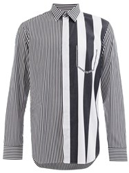 Maison Martin Margiela Striped Shirt Black