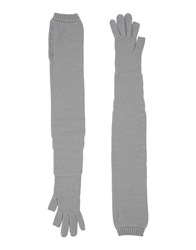 Rick Owens Accessories Gloves Women Cocoa