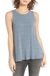 Lush Women's Open Back Rib Knit Tank