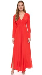 By Malene Birger Nurah Gown Bright Chinese Red