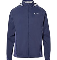 Nike Hield Hooded Running Jacket Storm Blue