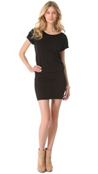 Sundry Short Sleeve Raglan Dress Black