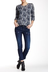 Zadig And Voltaire Evron Brut Denim Jean Blue