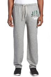 Junk Food 'New York Jets' Fleece Sweatpants Gray