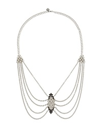Stephen Webster Layered Black Sapphire Pendant Necklace