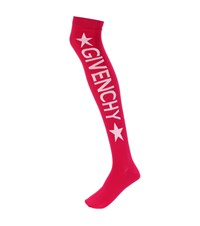 Givenchy Knitted Over The Knee Socks Purple