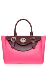 Hill And Friends Happy Satchel Pink