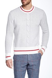 Gant By Michael Bastian Sock Monkey Sweater Gray