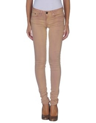 Thvm Denim Pants Pastel Pink