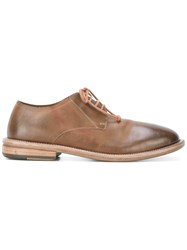 Marsell Lace Up Shoes Men Leather Rubber 42 Brown